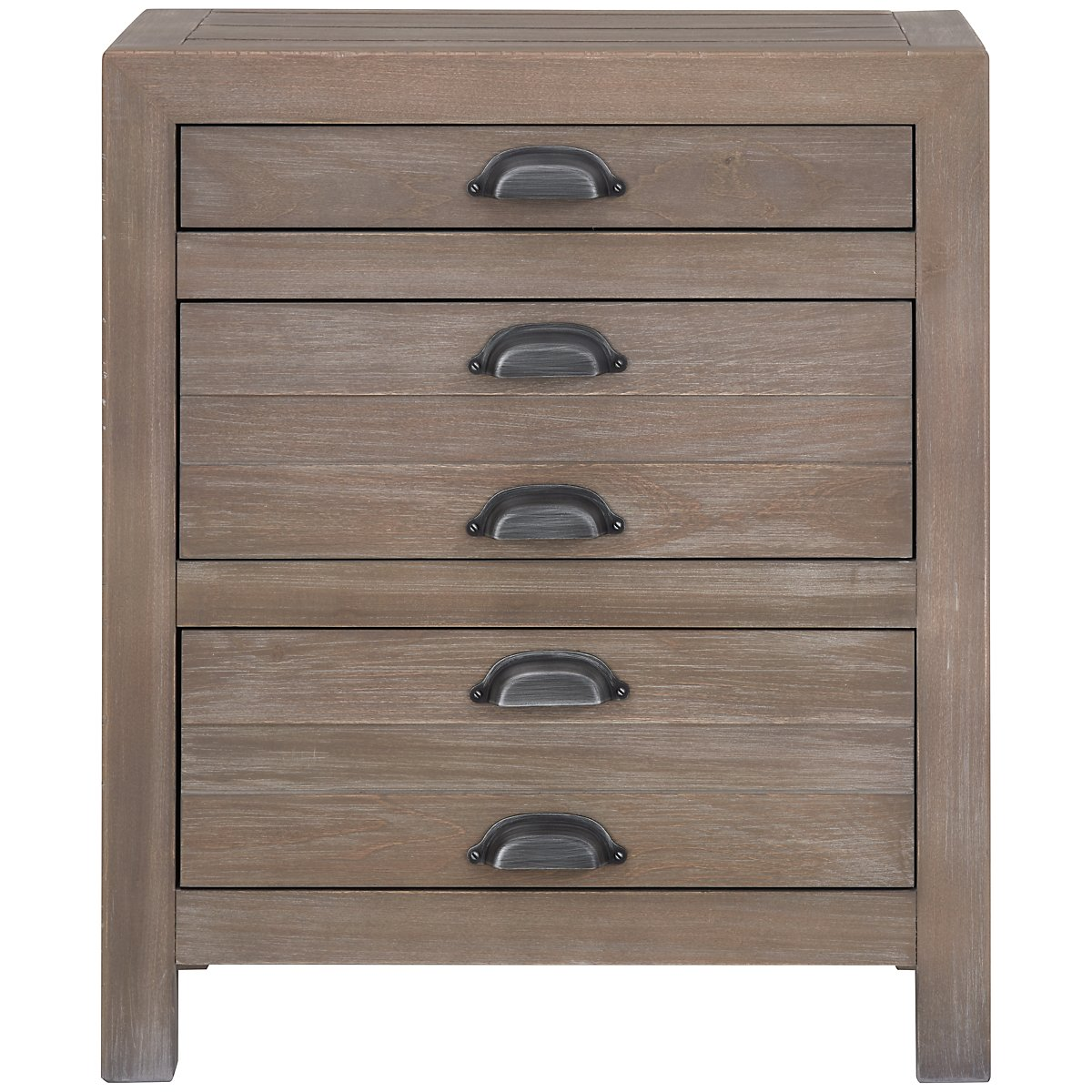 Gilmore Light Tone 3-drawer Nightstand
