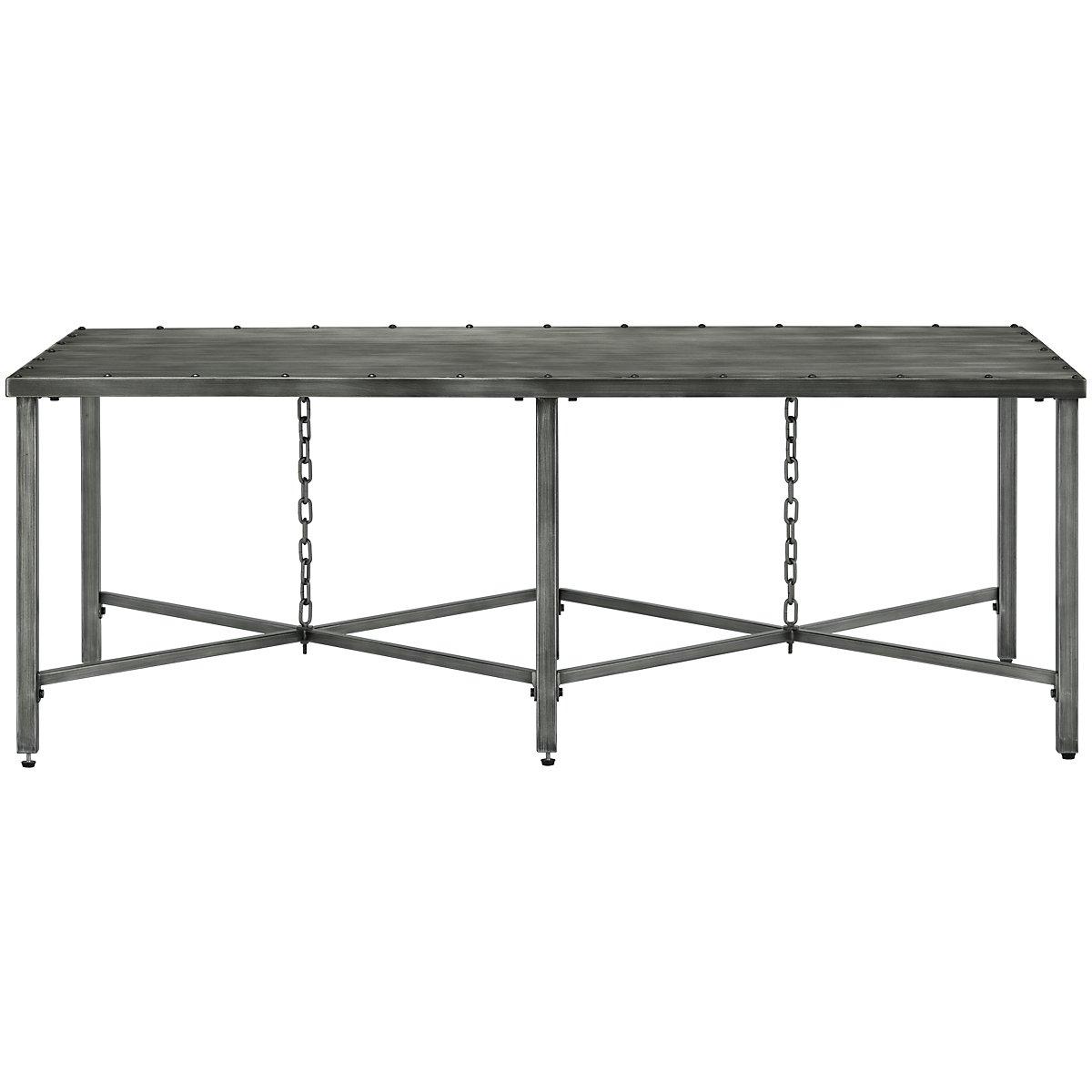 Eliston Metal Rectangular Coffee Table