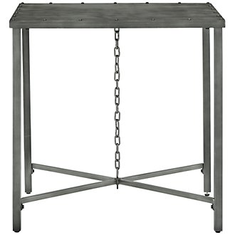 Eliston Metal Square End Table