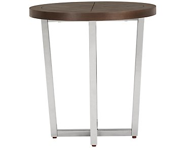 Dorchester Metal Round End Table