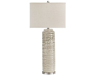 Anastasia Light Beige Table Lamp