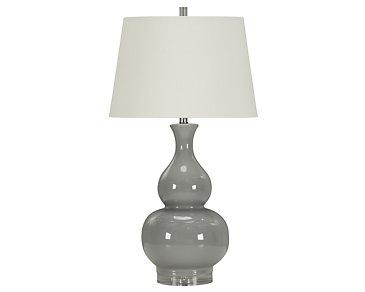 Cedric Gray Table Lamp