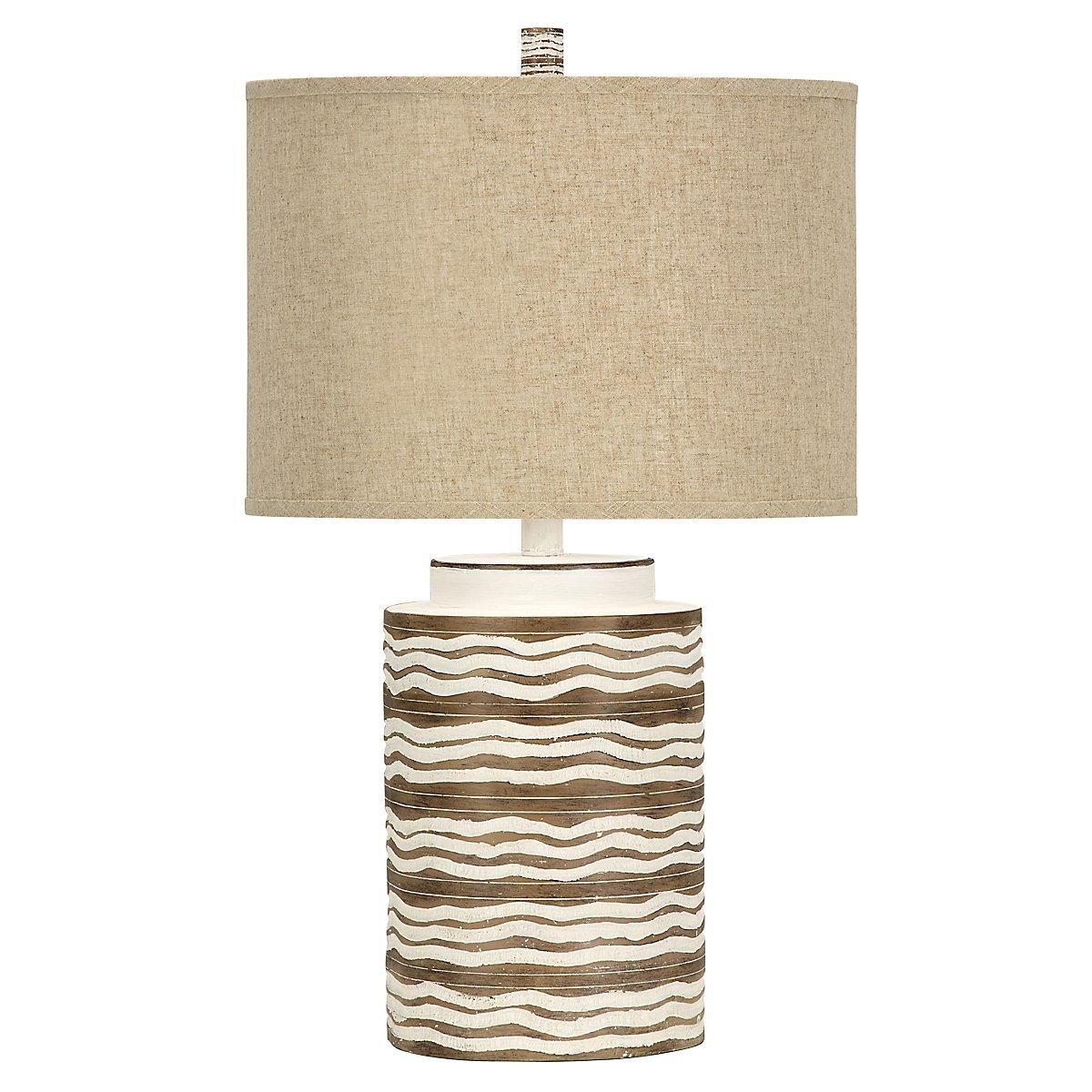 Mcallen Light Beige Table Lamp