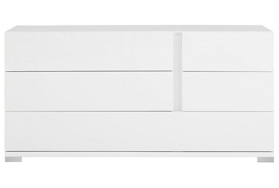 Santino White  Dresser