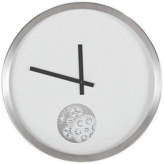 Adam White Wall Clock