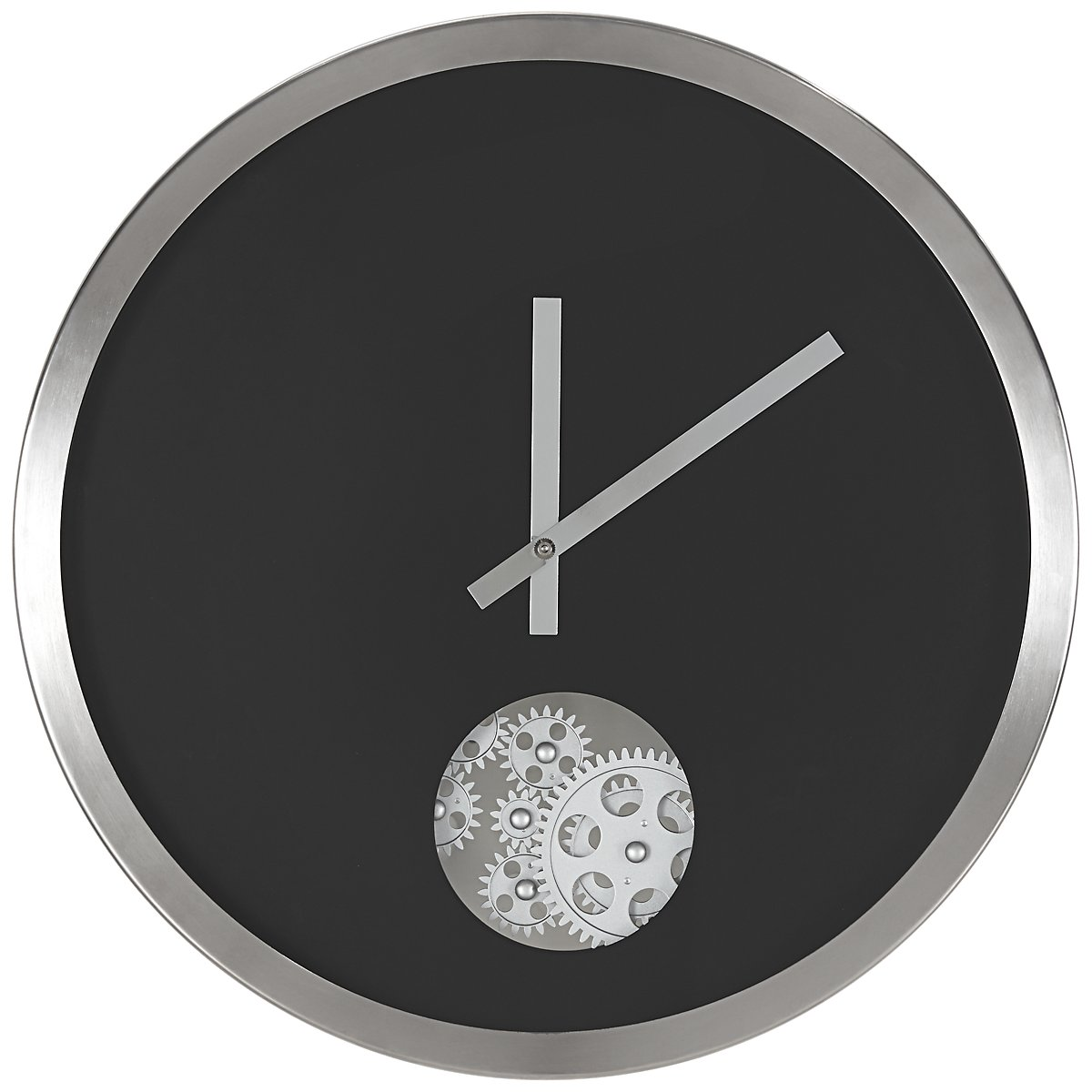 Josh Black Wall Clock