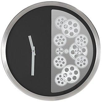 Todd Black Wall Clock