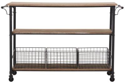 Byron Metal Wood Cart