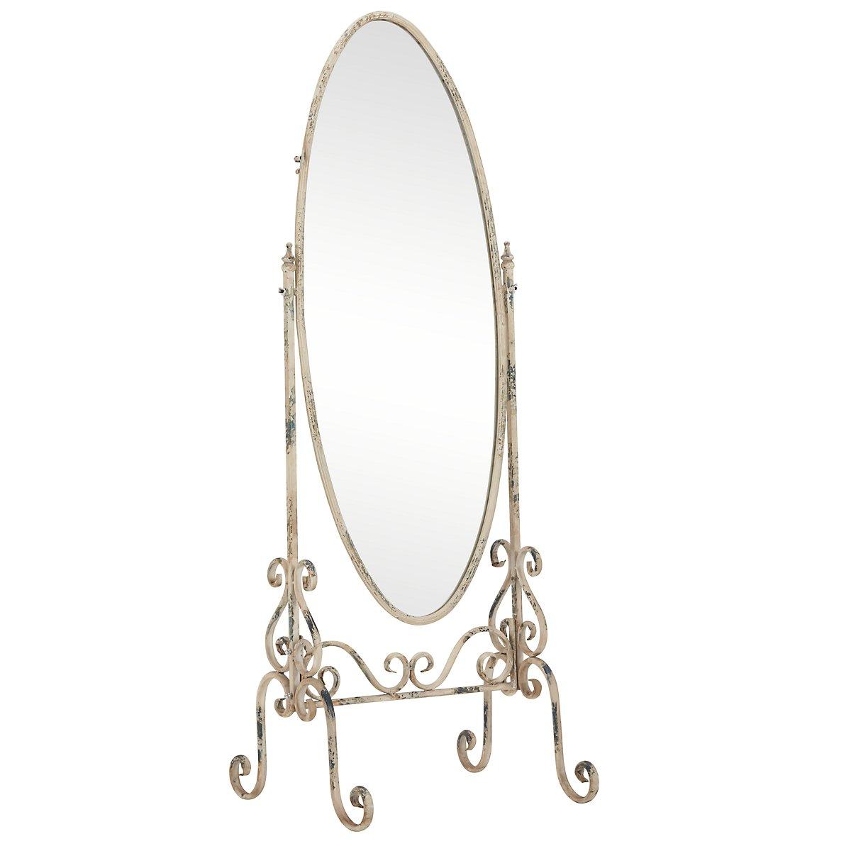 Bella Metal Floor Mirror