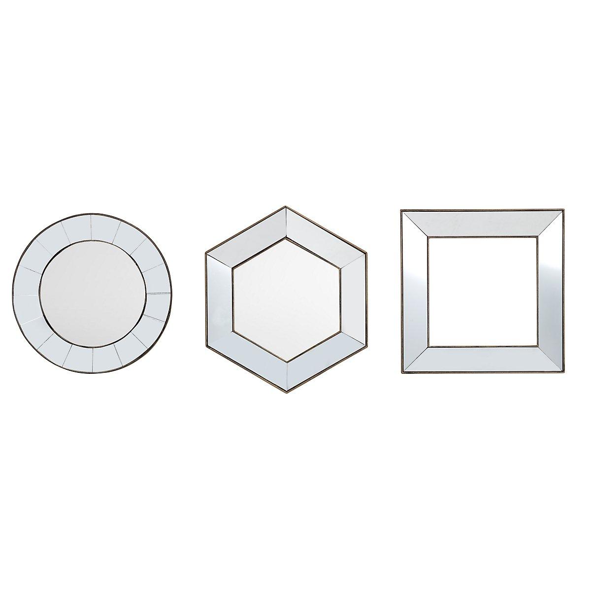 Adley Assorted Set Of 3 Mirror