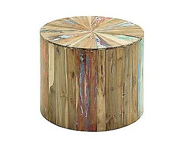 Brax Wood Small Accent Table