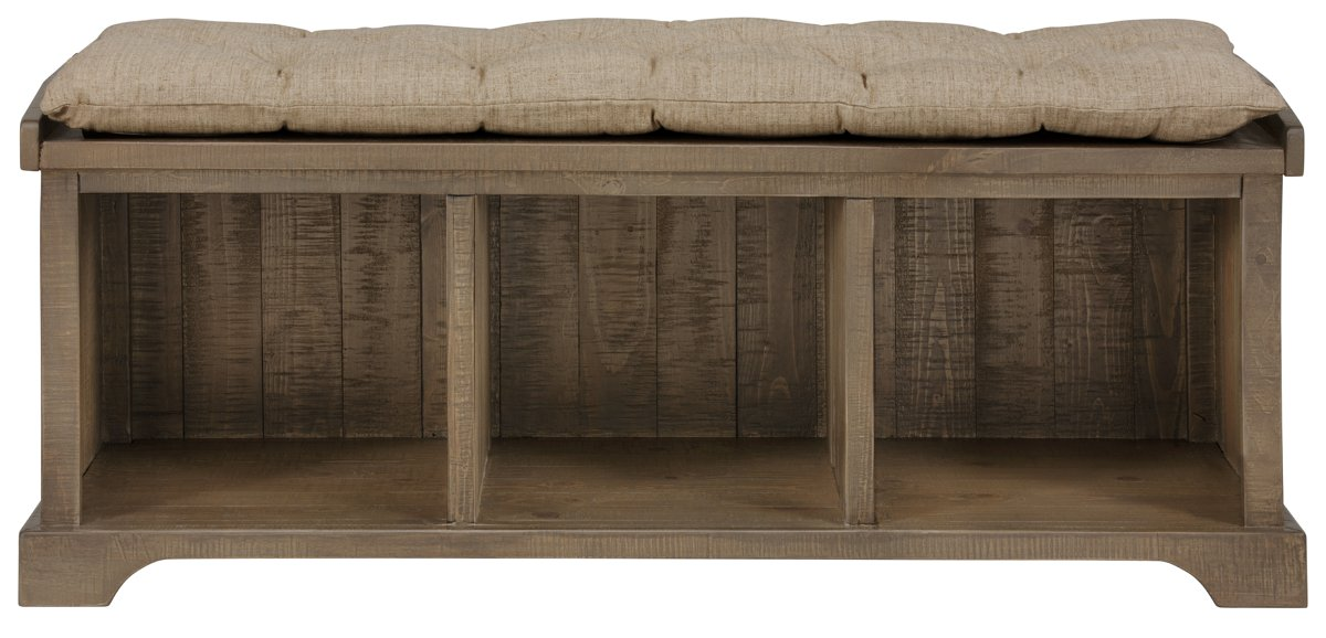 Jaden Light Tone Wood Bench