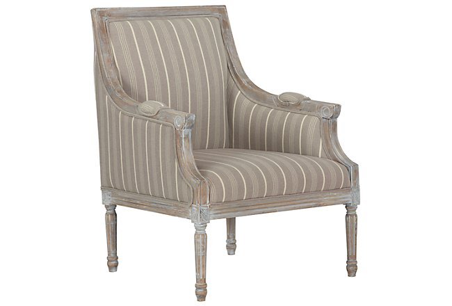 Accent Chairs.Mckenna Multicolored Fabric Accent Chair