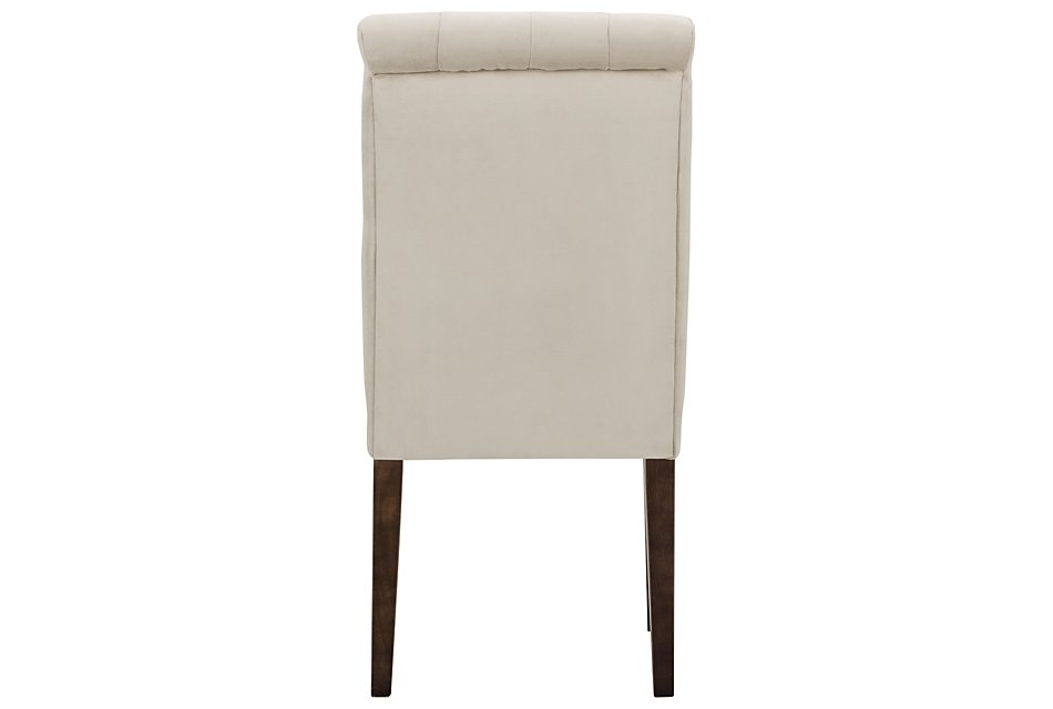 Sloane Light Beige Fabric Upholstered Side Chair