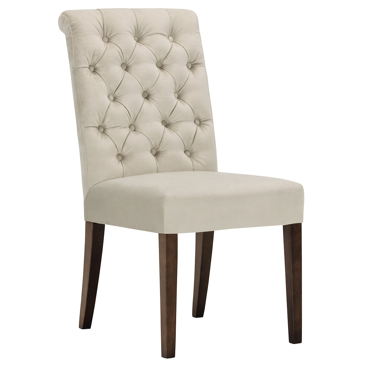 Sloane Light Beige Fabric Upholstered Side Chair