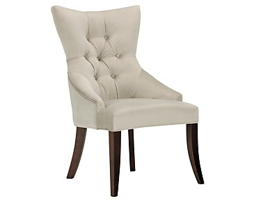 Sloane Light Beige Upholstered Arm Chair