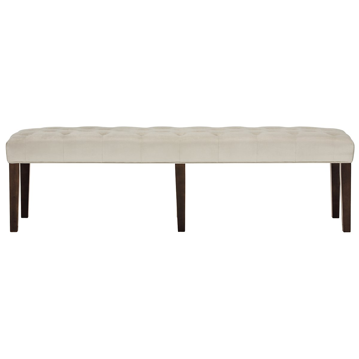Sloane Light Beige Dining Bench