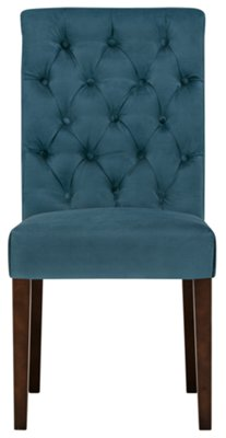 Etonnant Sloane Dark Blue Upholstered Side Chair