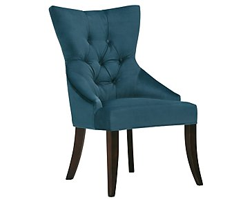 Sloane Dark Blue Upholstered Arm Chair