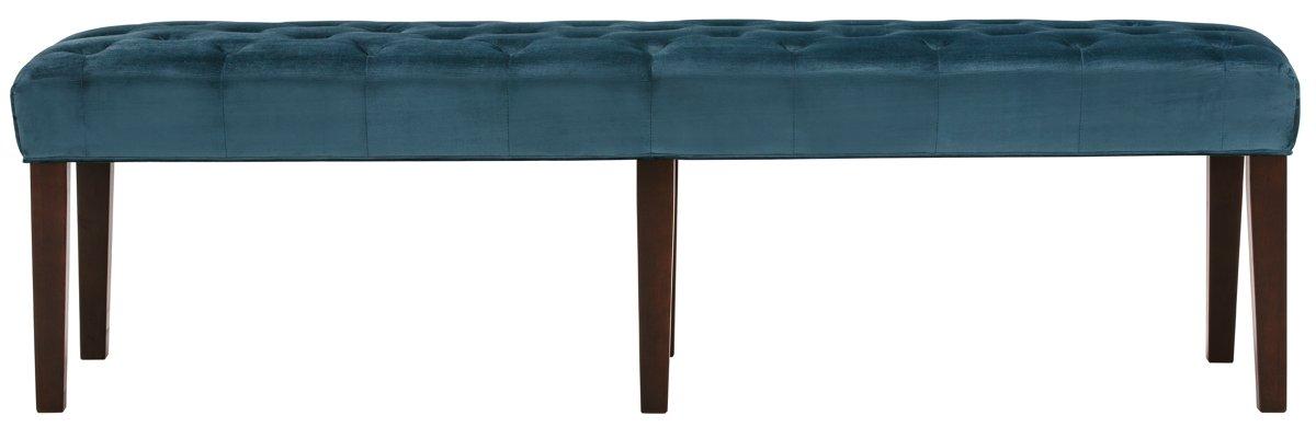 Sloane Dark Blue Fabric Dining Bench