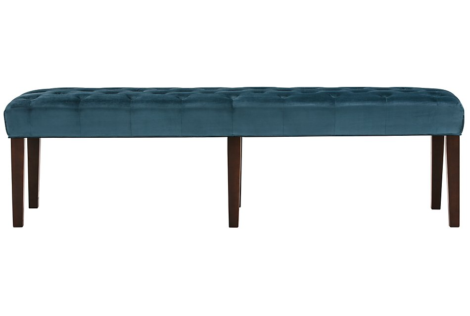 Phenomenal Sloane Dark Blue Dining Bench Dining Room Chairs City Cjindustries Chair Design For Home Cjindustriesco