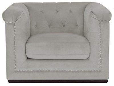 Exceptionnel Blair Gray Microfiber Chair