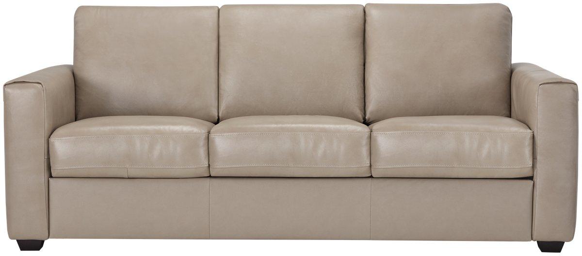 City Furniture Lane Taupe Leather Amp Vinyl Sofa