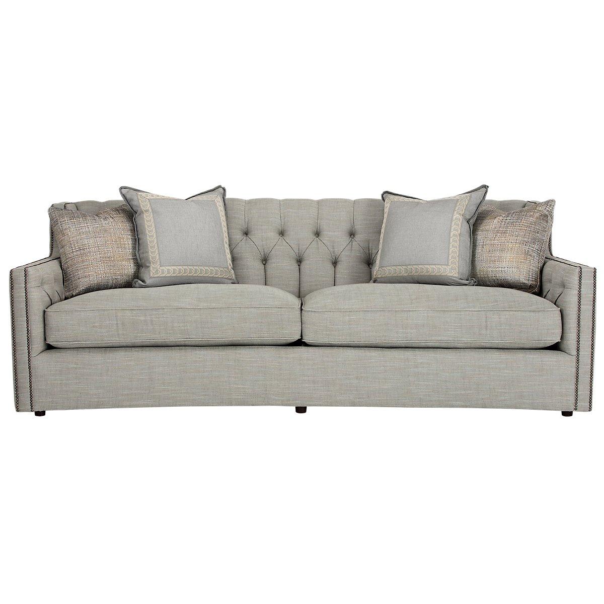 bernhardt living room furniture. Candace Light Blue Fabric Sofa City Furniture  Lt