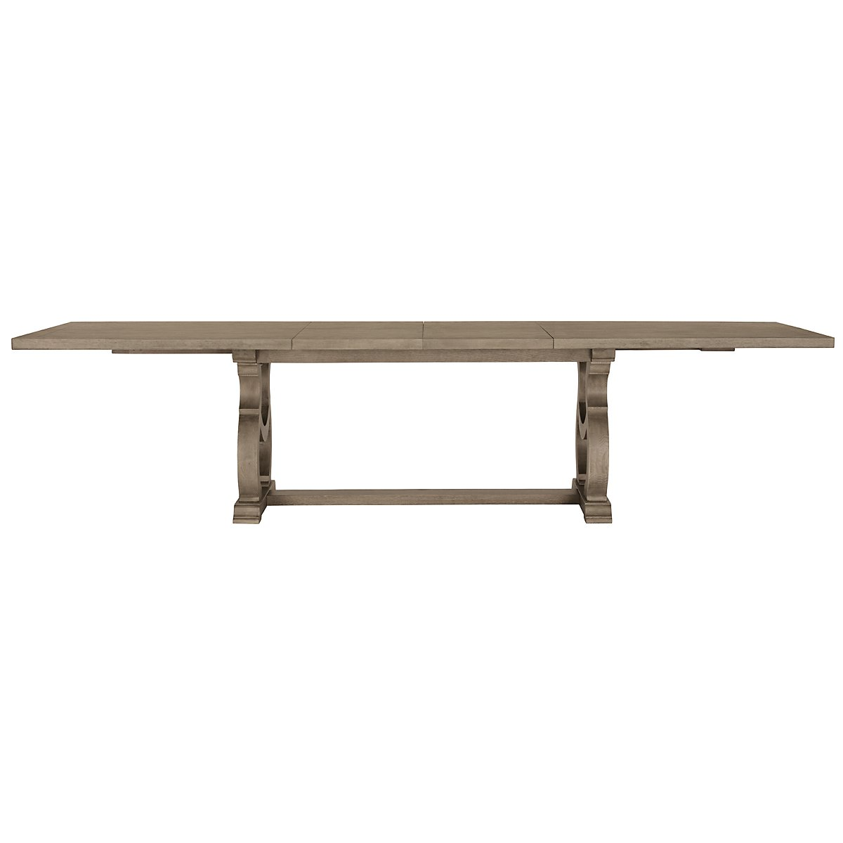Marquesa2 Gray Wood Rectangular Table