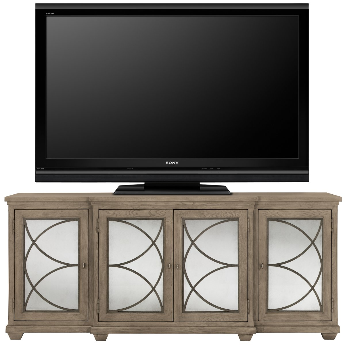 City Furniture Marquesa Gray Tv Stand