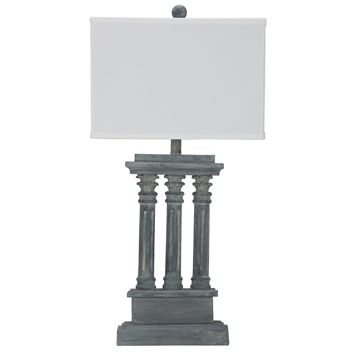 Lowell Gray Table Lamp