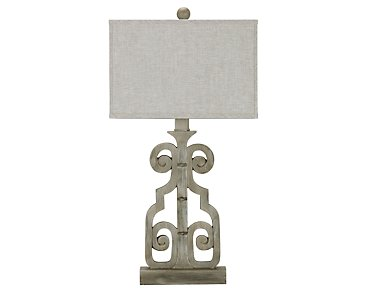 Braylin Light Gray Table Lamp