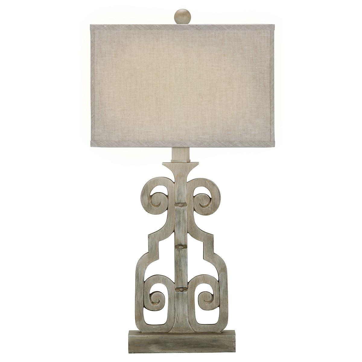 Braylin Light Gray Table Lamp