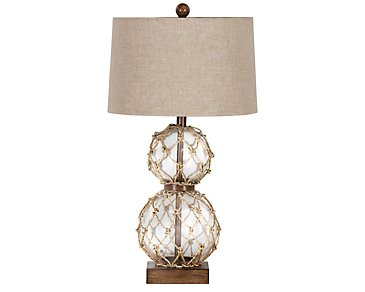 Seaside Clear Table Lamp