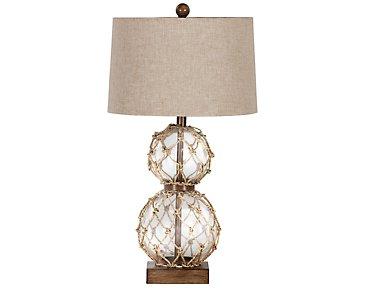 Seaside Clear Table Lamp