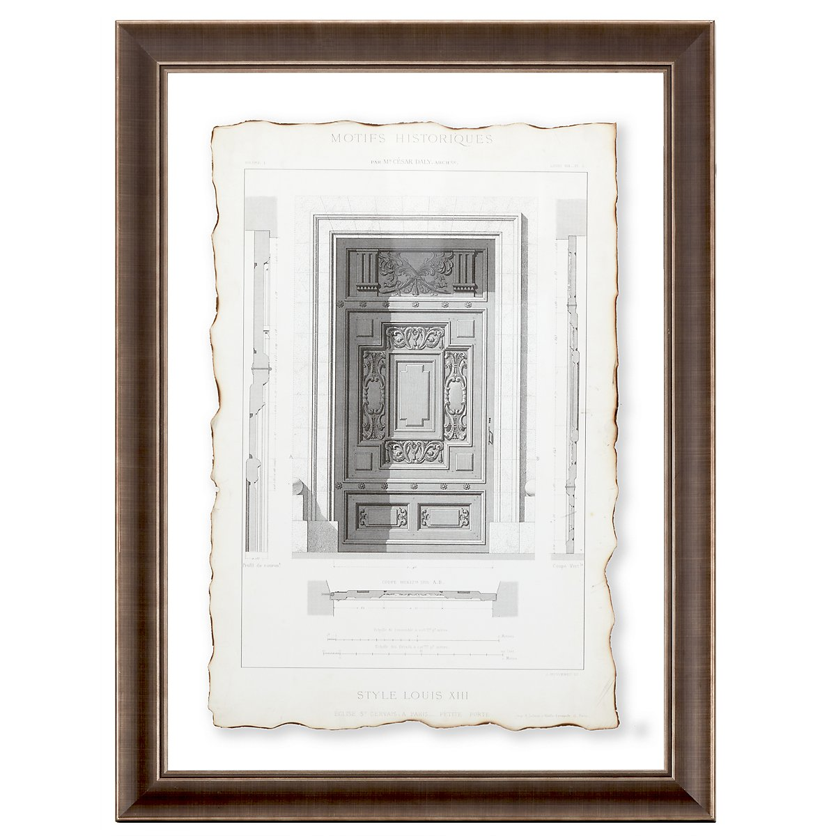 Motifs 4 Framed Wall Art