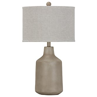 Dalton White Table Lamp