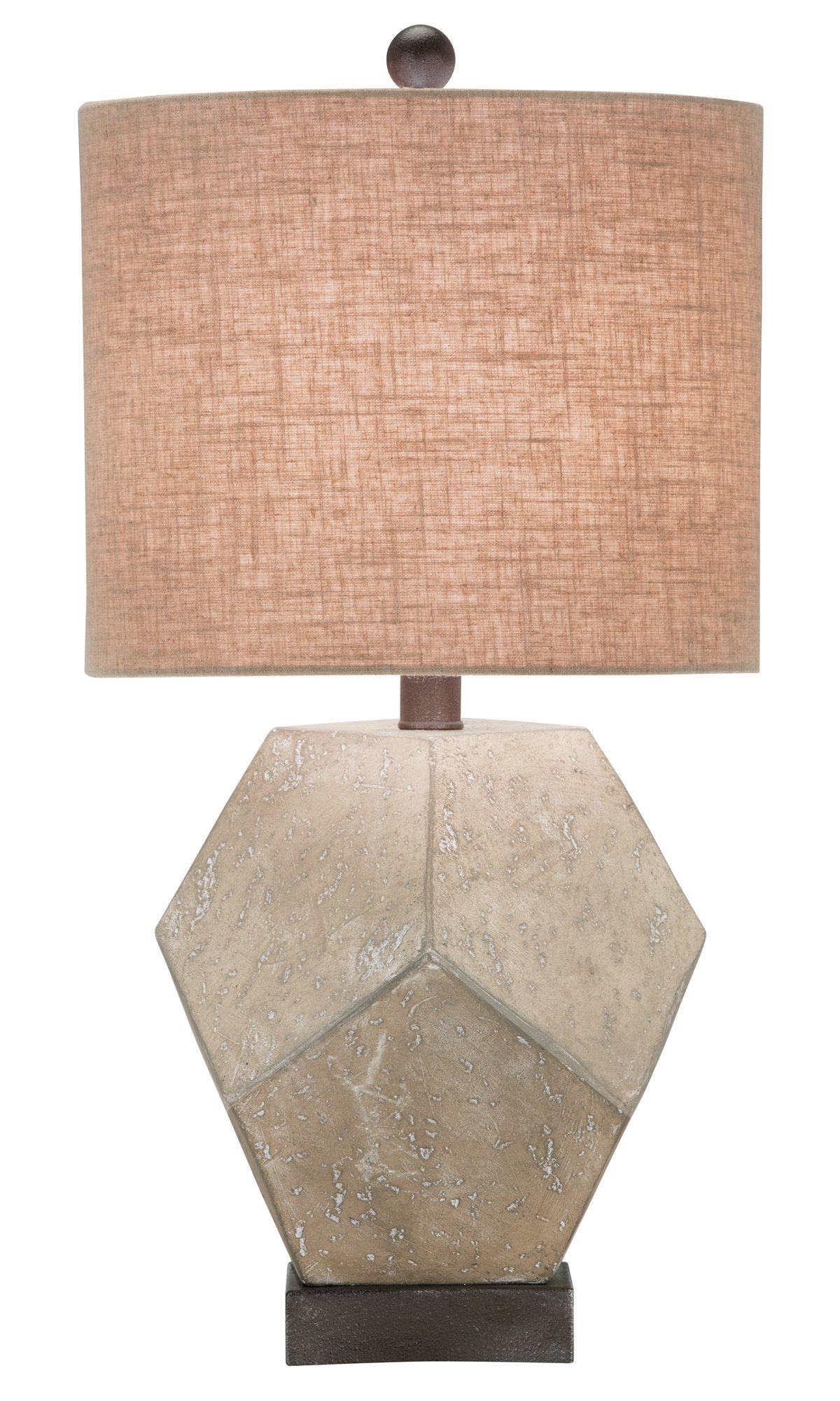 Wallace Gray Table Lamp