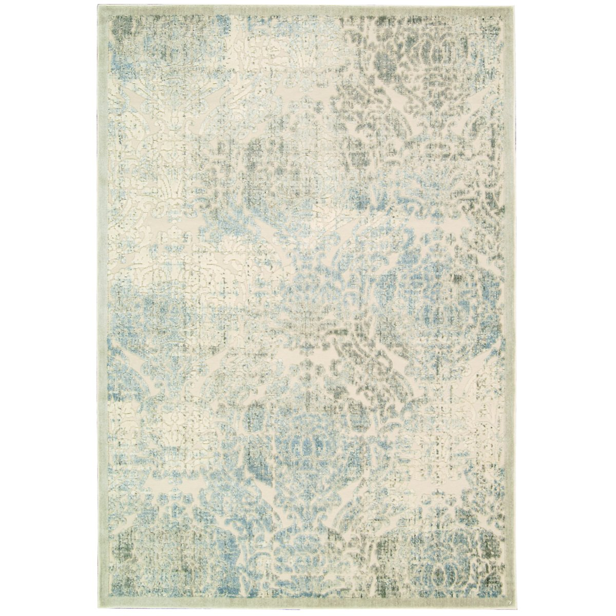 Graphic Beige 5X7 Area Rug