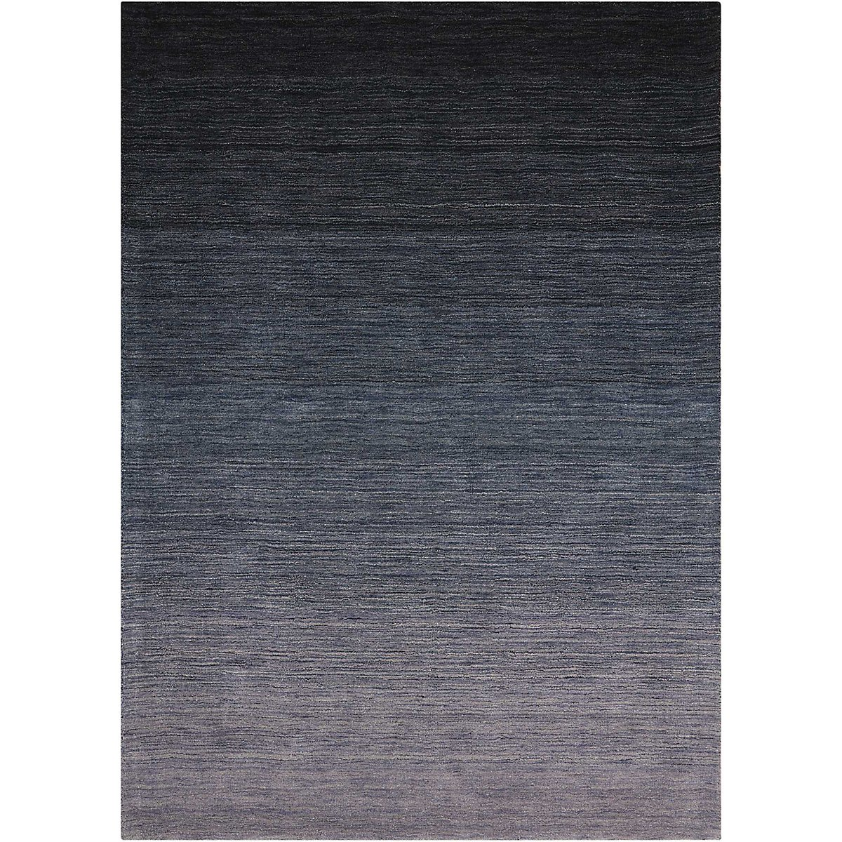 Haze Dark Blue 5X7 Area Rug