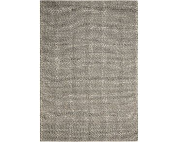 Lowland Light Gray 5X7 Area Rug