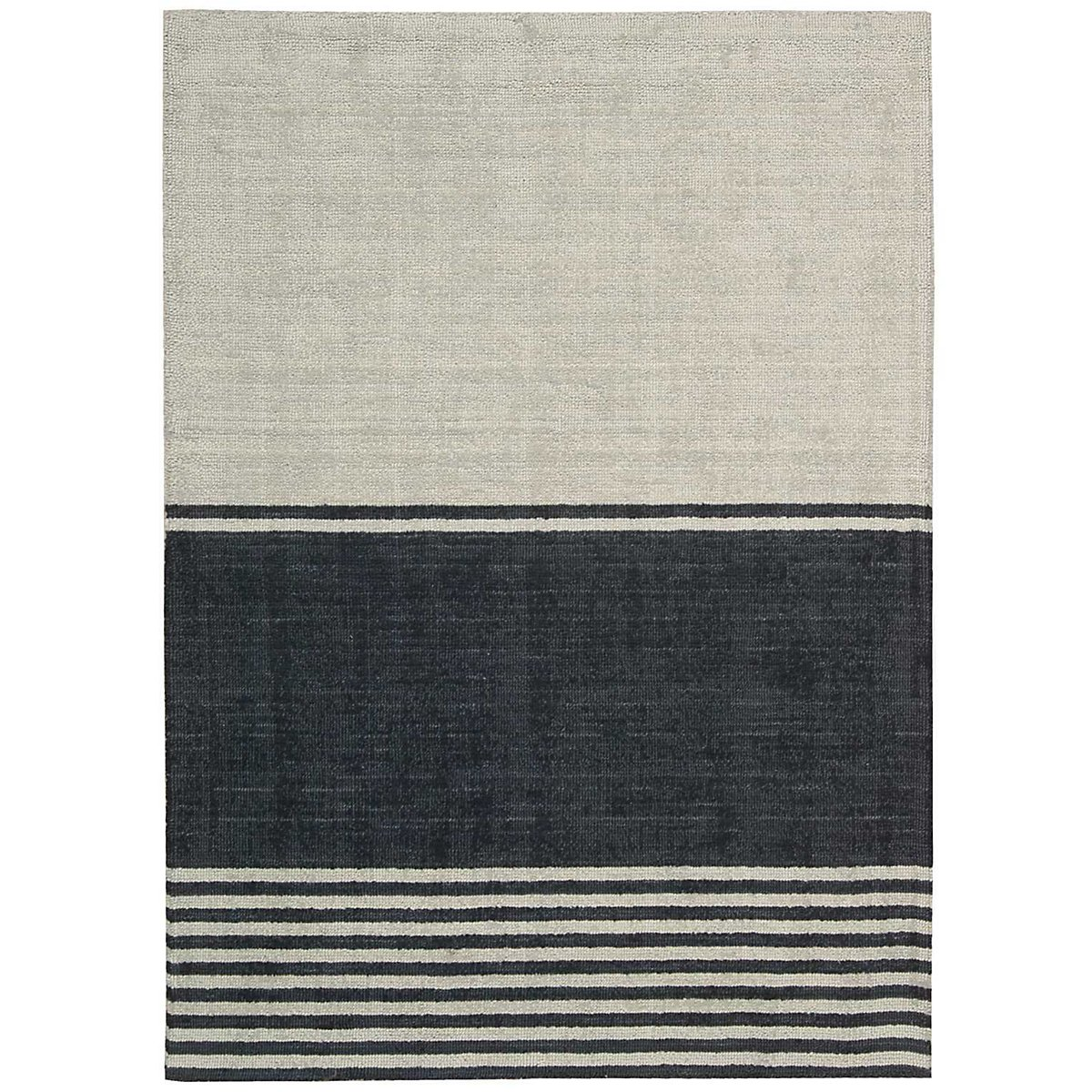 Tundra Dark Blue 5X7 Area Rug