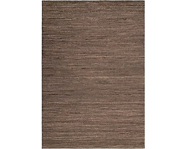 Monsoon Medium Brown 5X8 Area Rug