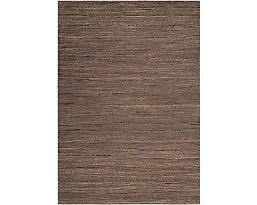 Monsoon Medium Brown 8X10 Area Rug