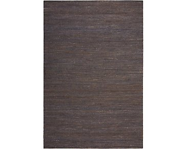 Monsoon Dark Brown 8X10 Area Rug