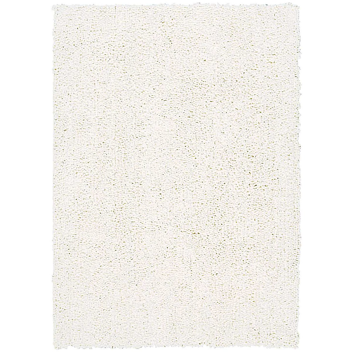Puli White 8X10 Area Rug