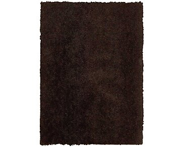 Puli Dark Brown 5X7 Area Rug
