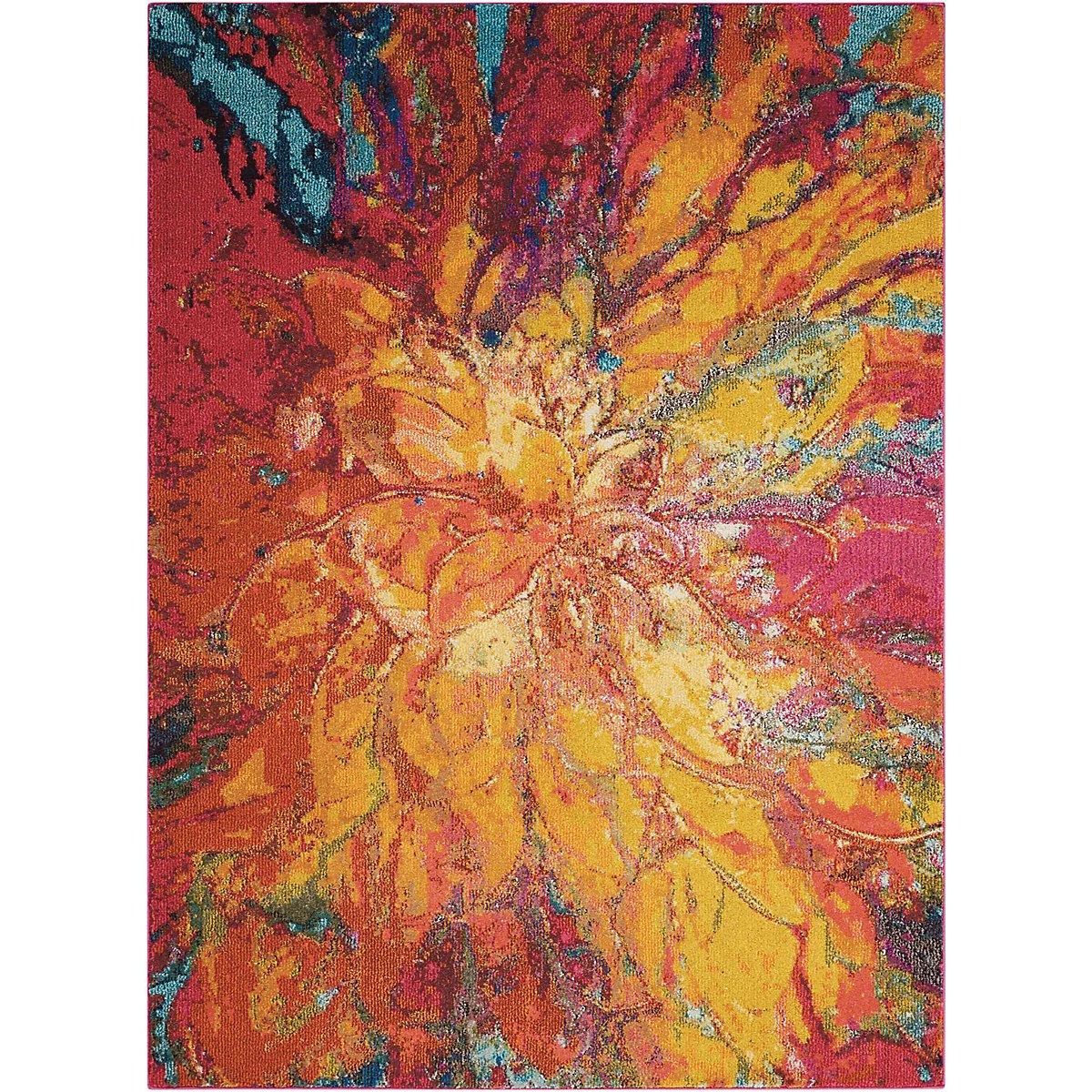 Cayenne Multicolored 8X11 Area Rug