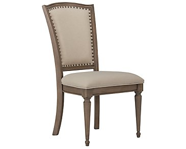 Haddie Light Tone Wood Side Chair