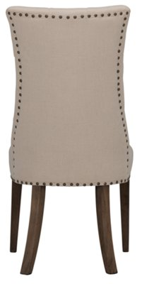 Haddie Light Tone Round Table U0026 4 Upholstered Chairs